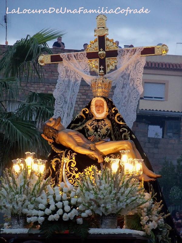El Domingo 30 traslado de la Virgen de las Angustias de Motril a la Iglesia del Carmen