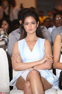 Shanvi Looks super cute in Small Mini Dress at IIFA Utsavam Awards press meet 27th March 2017 59.JPG