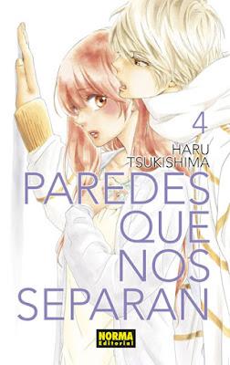 Manga: Review de Paredes que nos separan Vol.4 de Haru Tsukishima - Norma Editorial