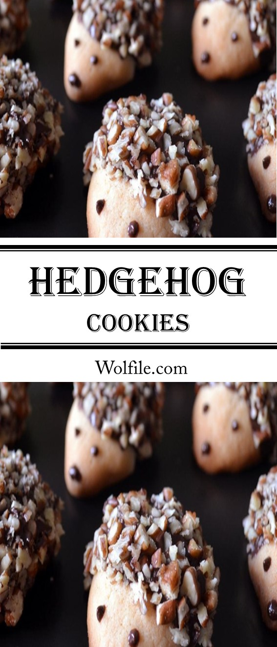 Hedgehog Cookies Recipe #Cookies