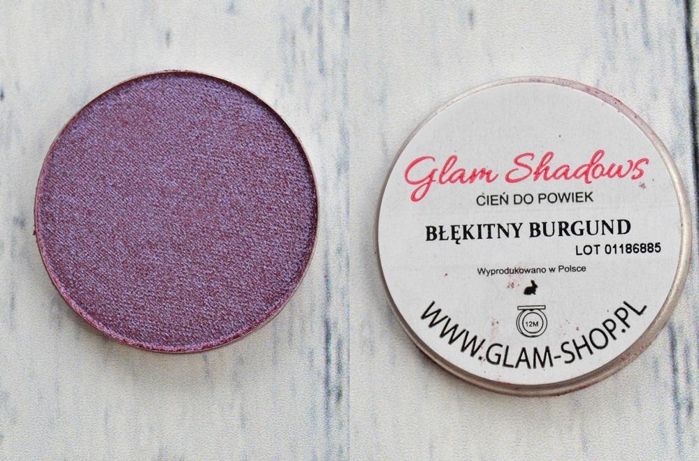 GlamShadows - Błękitny Burgund, glamshop.pl