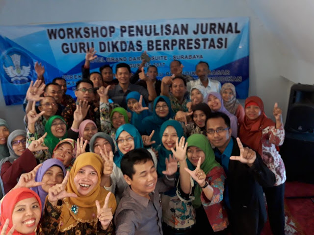 Workshop Penulisan Jurnal Dikdas Kemdikbud