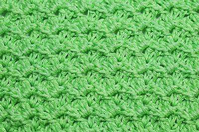 1 - Crochet Imagen Puntada a relieve sencilla por Majovel Crochet