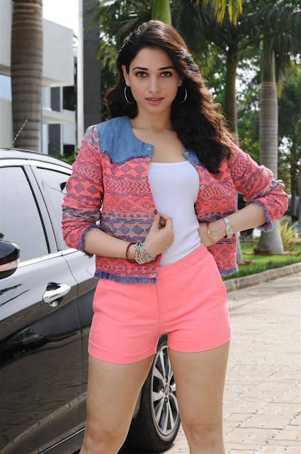 Tamannah Bhatia Latest Hot Cleveage Spicy PhotoShoot Images From Kaththi Sandai Movie