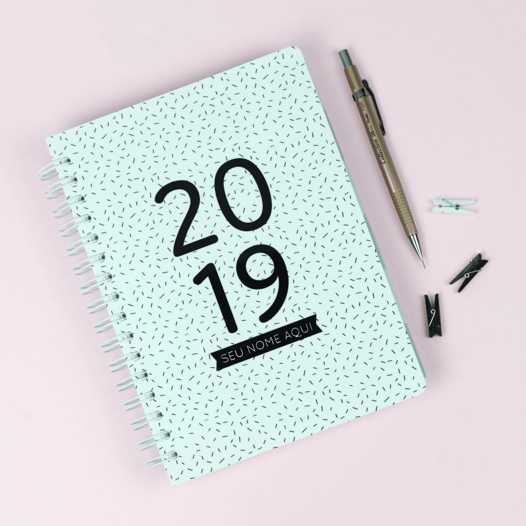Planner 2019 Minimalista gratuito para download