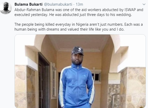 Oh No! See The Aid Worker Boko Haram Abducted And Killed Just Three Days To His Wedding (Photo) #Arewapublisize