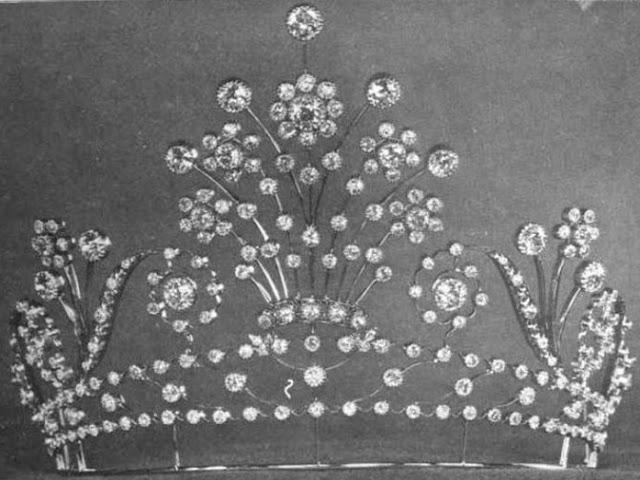 diamond tiara lillian nordica tiffany