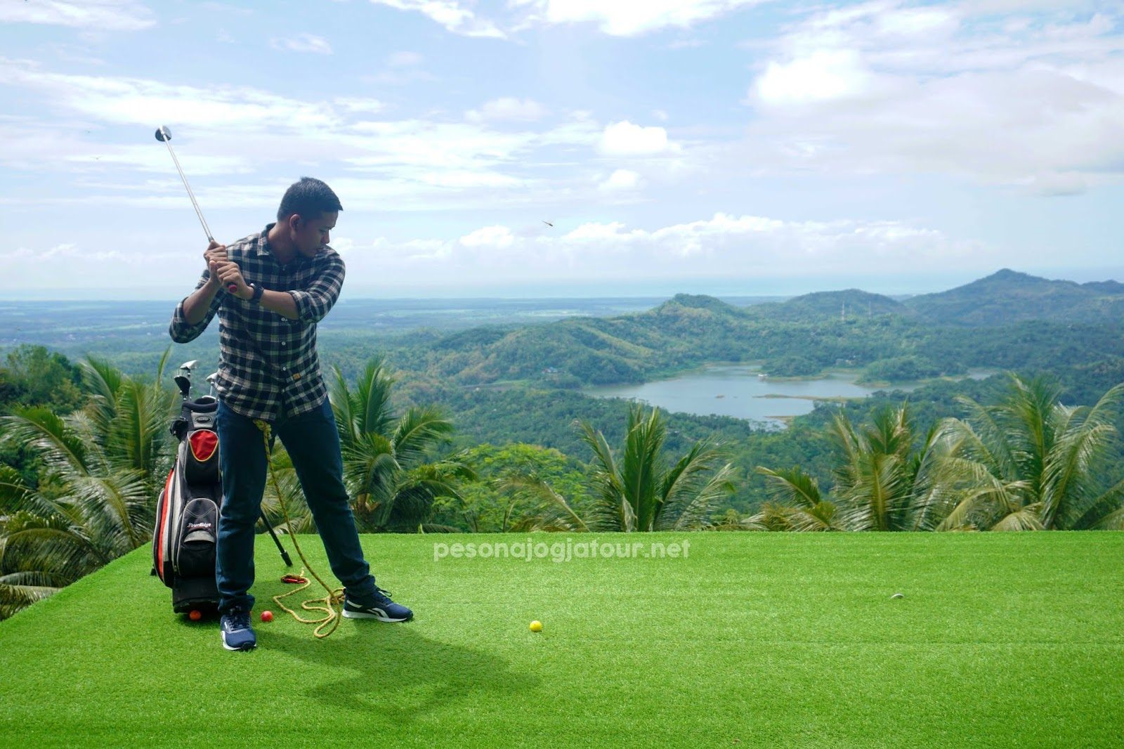 Spot Golf Pule payung