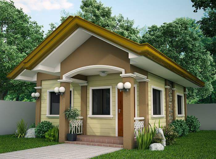 Delightful Design Your Own Home Through This External Small House Designs Images,  Check The Design Of The House, And The Example Of Floor Plans For Homes.