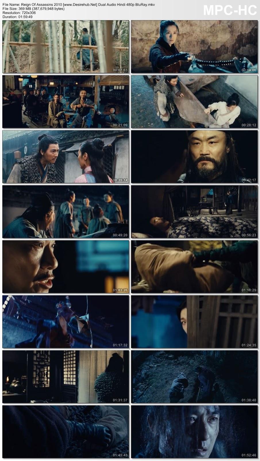 Reign Of Assassins 2010 Dual Audio Hindi 480p BluRay 350MB Desirehub