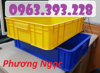 Thùng nhựa đặc cao 15, thùng nhựa HS007, thùng nhựa công nghiệp 20180407_115826