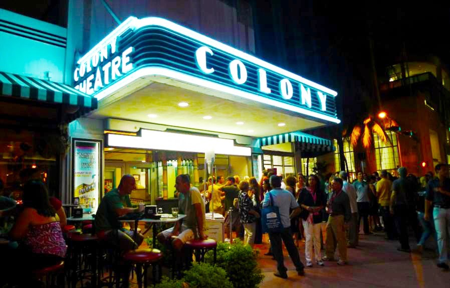 Teatro Colony Theater em Miami Beach