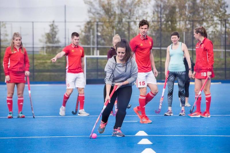 FitBits | Women In Sport with Vitality and England Hockey - Tess Agnew fitness blogger