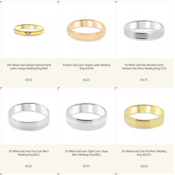Mens 5mm Wedding Band 72 Vintage Selection of Wedding rings