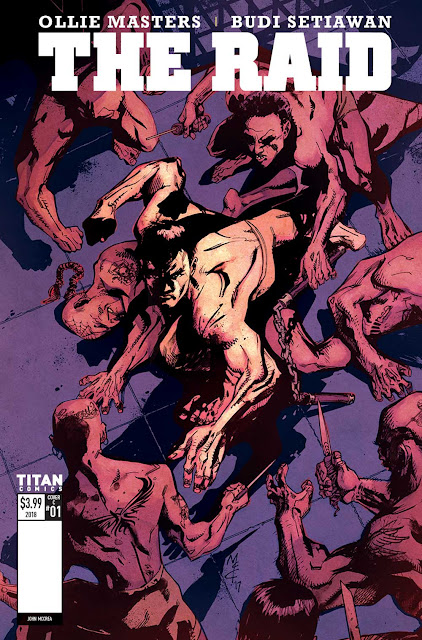 News: Titan Announces The Creative Team On The Raid Comics – Plus Preview Images