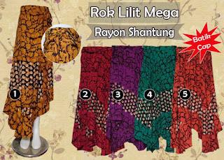 Rok lilit batik panjang murah terbaru desain modern