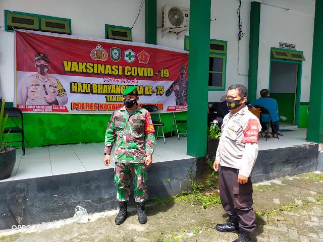 Pengamanan Pelaksanaan Vaksinasi Covid-19 Oleh Puskesmas Baamang l dan Puskesmas Baamang ll di Kecamatan Baamang