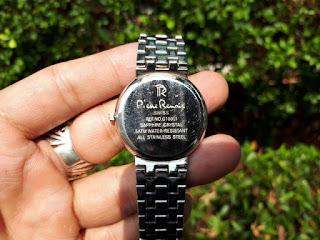 Jam Tangan Pierre Renoir Ref G10011 Bekas Stainless Steel Water Resistant