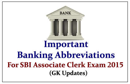 SBI Associate Clerk Exams 2015 | GK Question