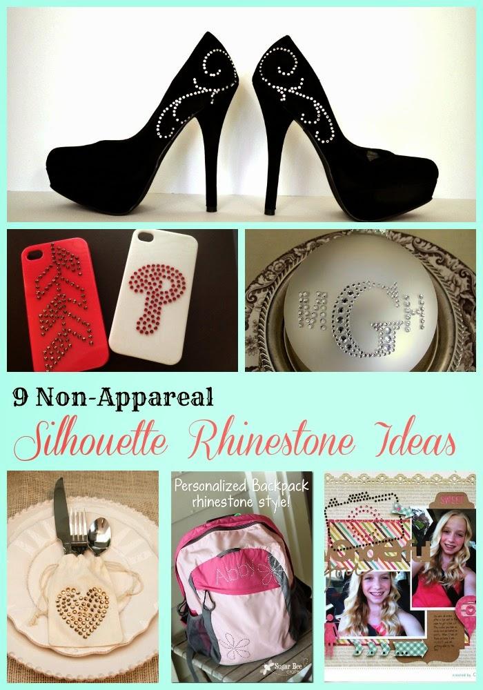 Silhouette, Rhinestones, non-apparel, Silhouette tutorial