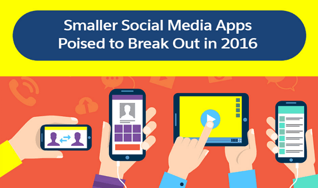 Smaller Social Media Apps Poised to Break Out in 2016