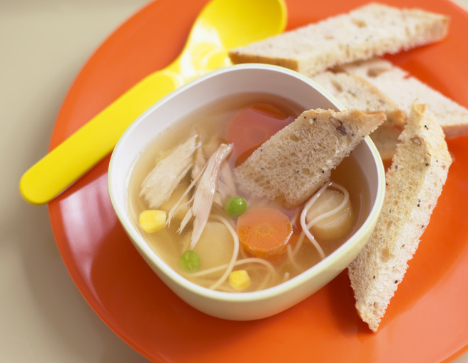 How to make diet chicken soup