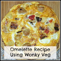 An Omelette with title overlaid