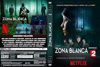 CARATULA ZONA BLANCA - ZONE BLANCHE - BLACK SPOT 2017[COVER DVD]