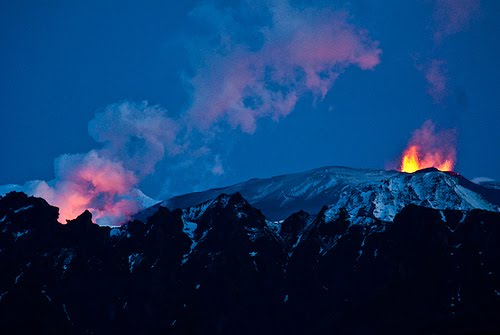 Volcanic eruption of May,2011