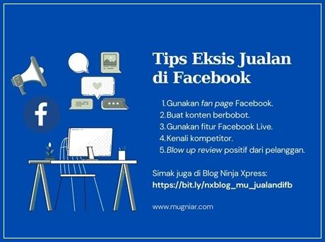 Tips eksis jualan di Facebook