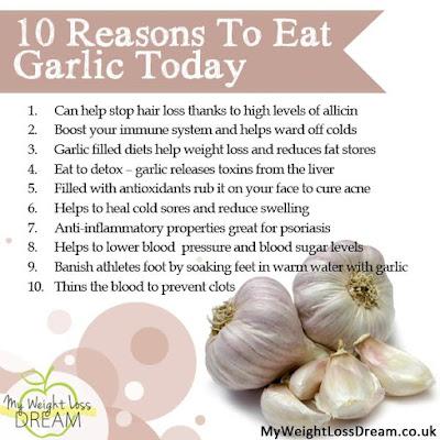 10 REASONS TO EAT GARLIC TODAY