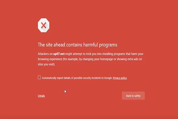 طريقة التخلص من الرسالة الحمراء المزعجة على جوجل كروم !