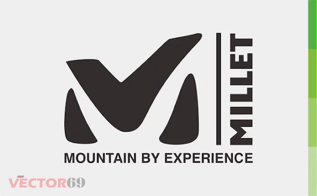 Millet Mountain Logo - Download Vector File CDR (CorelDraw)