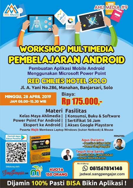 Workshop Multimedia Pembelajaran Android Berbasis Powerpoint