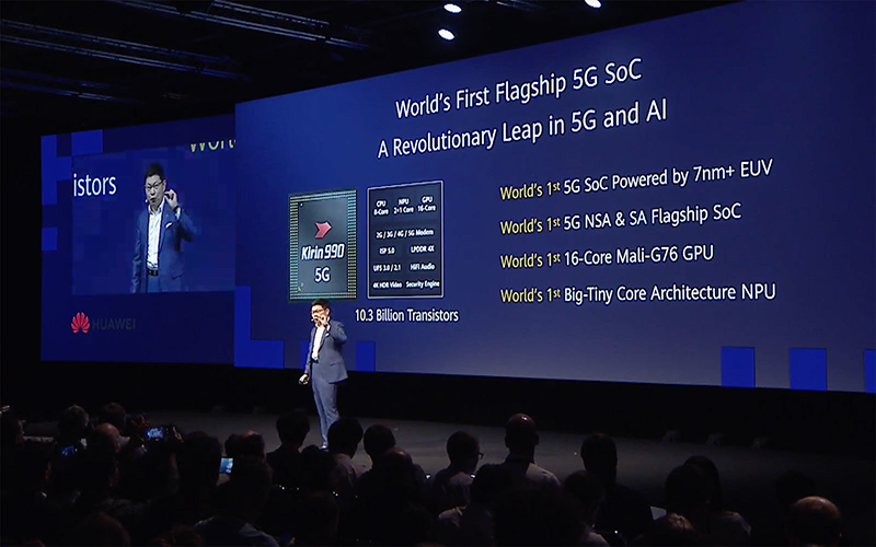 IFA 2019: Huawei releases Kirin 990 with built-in 5G!