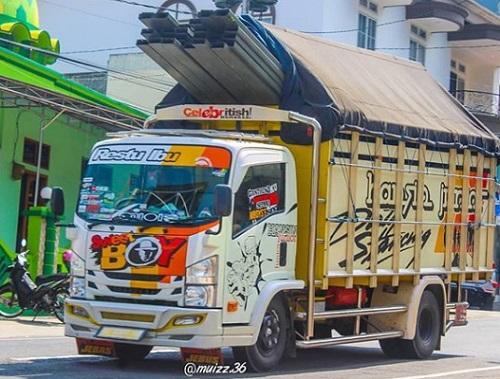 2. Modifikasi Truk Indonesia
