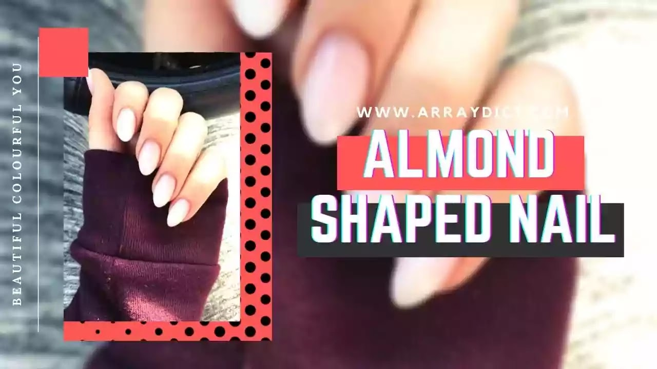 almond nails shaped for chubby fingers