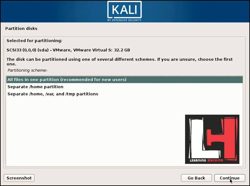 How to install Kali Linux 2019 1 in vmware | Kali Linux vmware | How
