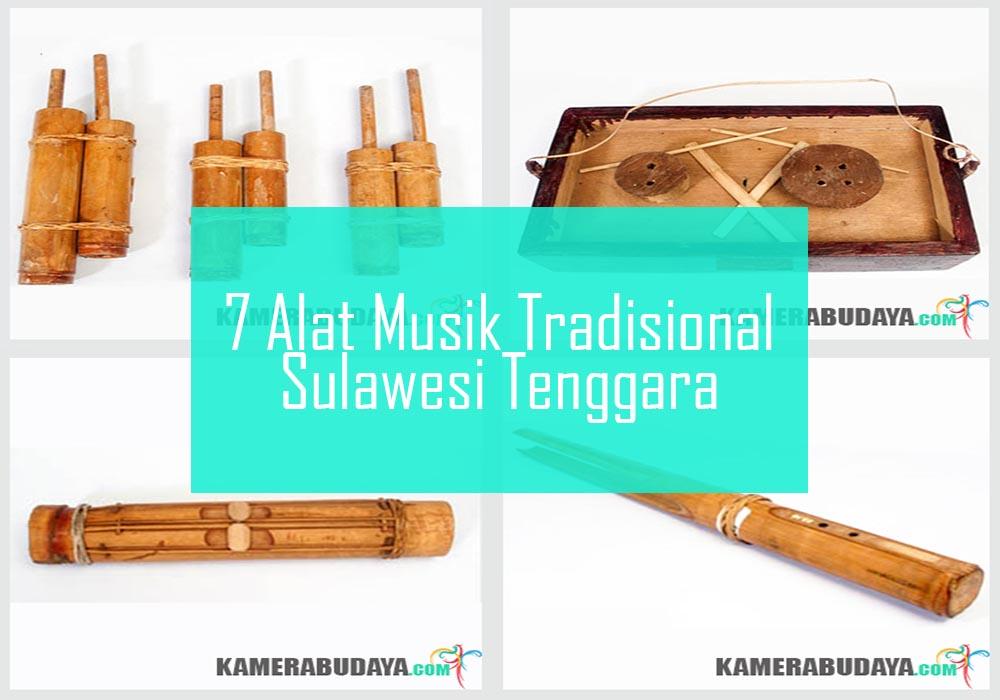 Inilah 7 Alat Musik Tradisional Dari Sulawesi Tenggara
