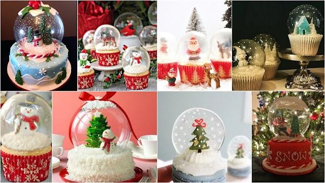 Πως θα δώσετε σε γιορτινά γλυκίσματα όψη ...χιονόμπαλας