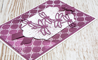 Introducing the 2017-19 Stampin' Up! In Colours.  Meet Fresh Fig which you can buy here