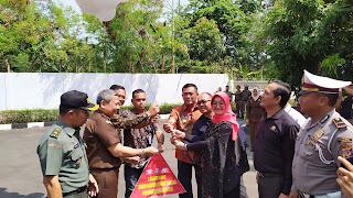 Kejari Kota Cirebon Dan Kantor Pos Luncurkan Pembayaran Tilang Terintegrasi