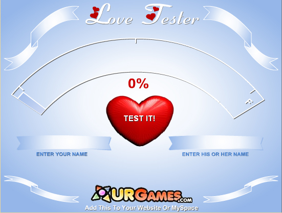 Y8 Games Love Tester