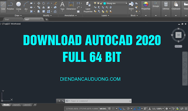 Download AutoCAD 2020 full cr@ck 64bit