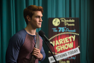 Archie auditions for the variety show