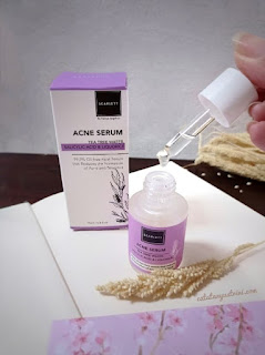Review acne serum scarlett