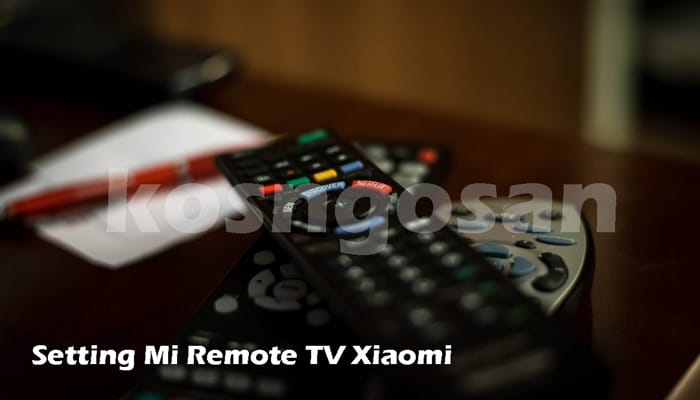 setting mi remote tv xiaomi