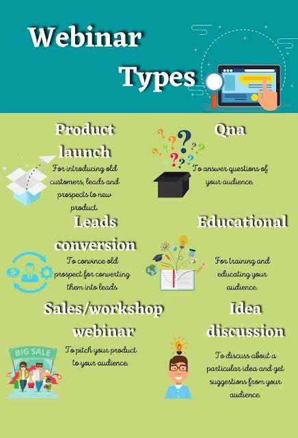 Webinar types