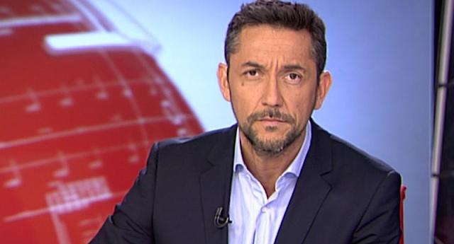 Repaso monumental del periodista Javier Ruiz al presidente de la Fundación Francisco Franco, Juan Chicharro