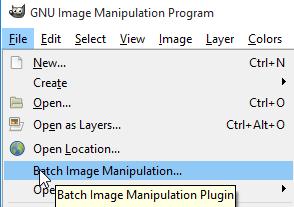 Batch Image Manipulation